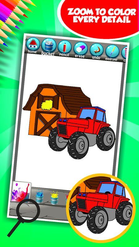 Libro para colorear granja for Android - APK Download