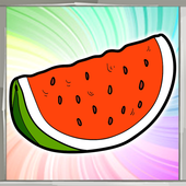 Fruit Coloring Book icon
