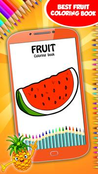Fruit Coloring Book poster