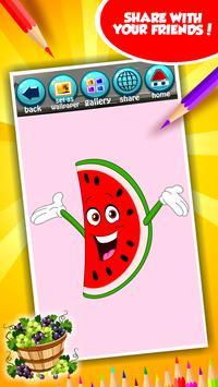 Fruit Coloring Book screenshot 14