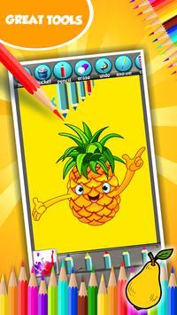 Fruit Coloring Book screenshot 4