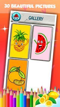 Fruit Coloring Book screenshot 7