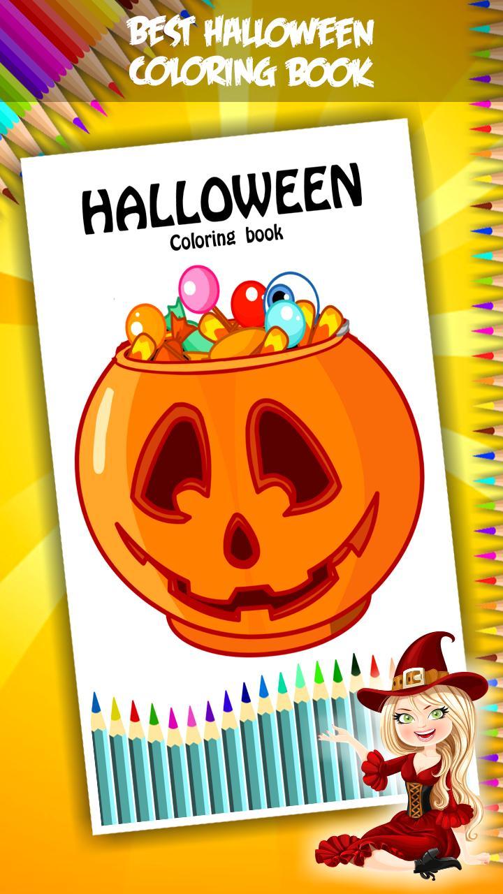 Buku Mewarnai Halloween For Android APK Download