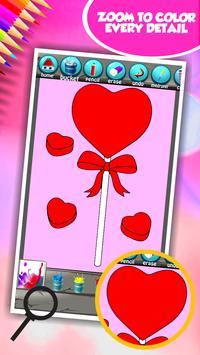 Love Coloring Book screenshot 11