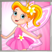 Little Girl Coloring Book icon