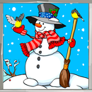 Snowman Coloring Book APK
