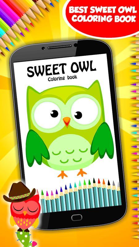 Buku Mewarnai Burung Hantu For Android Apk Download