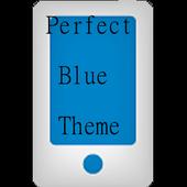 Perfect Blue LG Home Theme icon