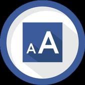 Icona Big Font