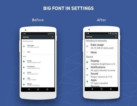 Big Font 截圖 4