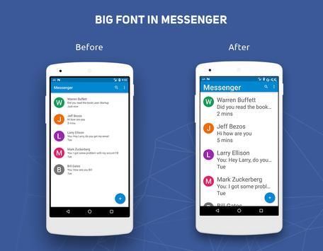 Big Font captura de pantalla 2