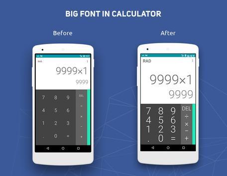 Big Font captura de pantalla 3
