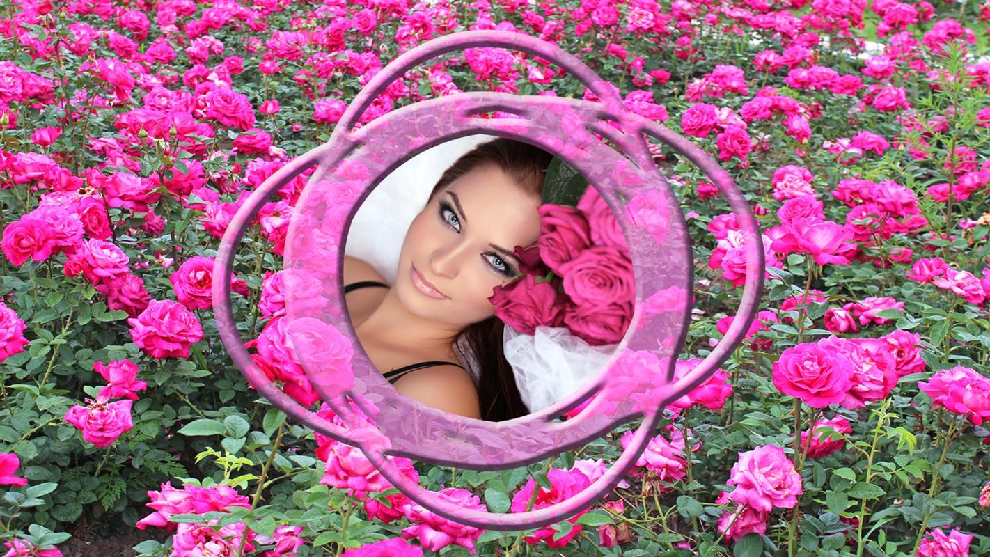 Rose Blume Bilderrahmen APK-Download - Kostenlos Fotografie APP für ...