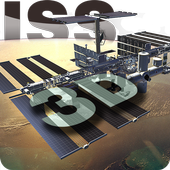 ISS 3D Space Live Wallpaper icon