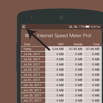Internet Speed Meter Pro poster