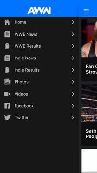 All Wrestling News apk screenshot