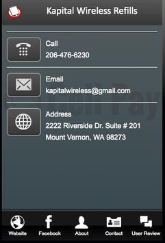 Kapital Wireless Refills screenshot 1