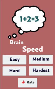 Brain Speed poster
