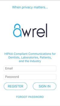 Awrel Secure Messaging poster