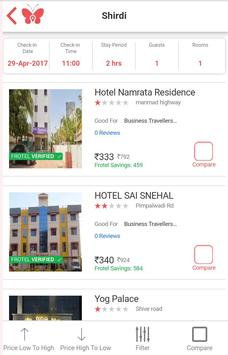 Frotels - Book Hotels By Hours apk screenshot