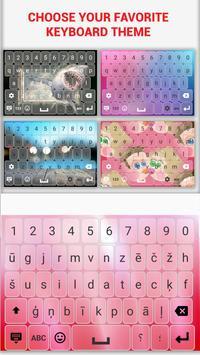 Latvian Keyboard screenshot 3