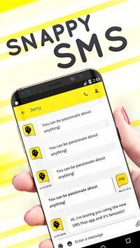 Snappy SMS Theme apk screenshot