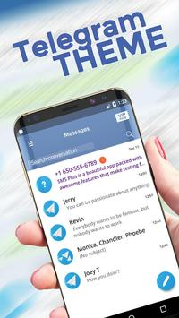 Telegramer SMS Theme poster