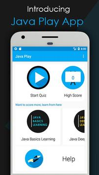 Java Play poster