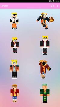 Skin Anime MCPE screenshot 3