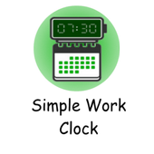 Simple Work Clock icon