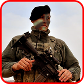 Airborne Fighter Sniper Fury icon