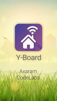Y-Board poster