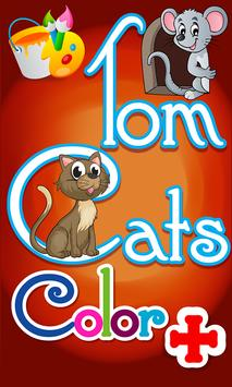 Tom Cats Color + poster