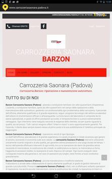 Carrozzeria Saonara Padova poster