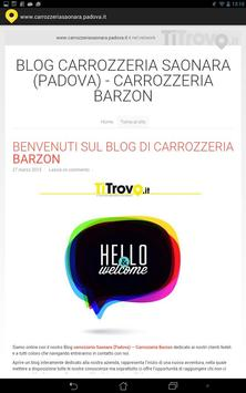 Carrozzeria Saonara Padova apk screenshot