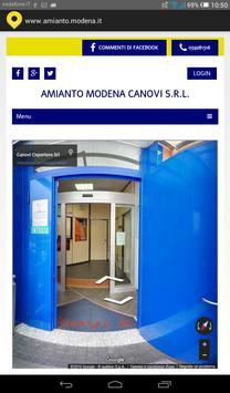 Amianto Modena poster