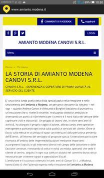 Amianto Modena screenshot 1