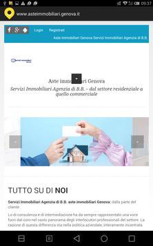 Aste immobiliari Genova poster