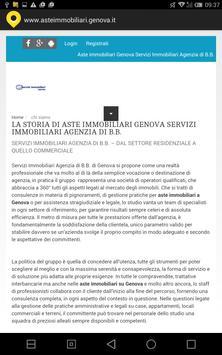 Aste immobiliari Genova screenshot 1