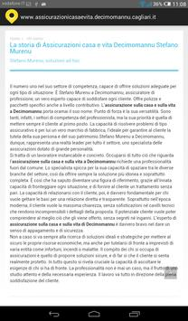 Assicurazioni casa Decimomannu screenshot 1