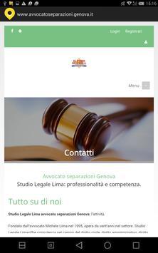 Avvocato separazioni Genova poster