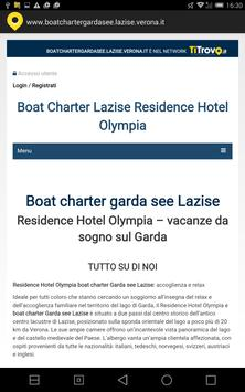 Boat Charter Garda See Lazise poster