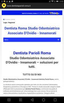 Dentista Parioli Roma poster