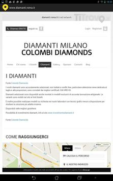 Diamanti Roma poster