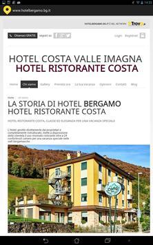Hotel Bergamo BG poster