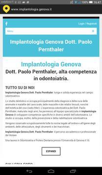 Implantologia Genova poster