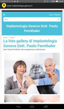 Implantologia Genova screenshot 2