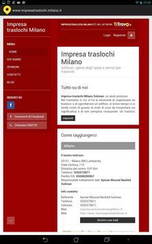 Impresa Traslochi Milano poster