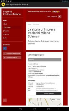 Impresa Traslochi Milano apk screenshot