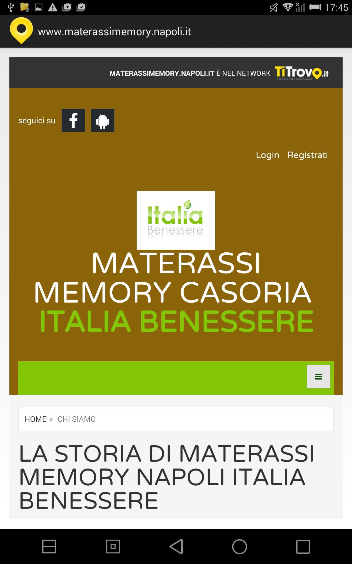 Materassi Benessere.Materassi Memory Napoli For Android Apk Download